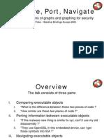 Compare - Port - Navigate by Halvar Flake & Rolf Rolles