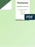 Peshawar Contaminacion Atmosferica - Unidad 3 Foro 1 - Antonio Valdez Hernandez