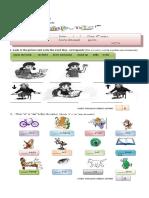 Prueba-de-Diagnostico-de-Ingles 2011- 5°