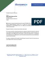 -Acuerdo Jal, Honorarios Villavicencio