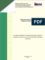 TCC a Análise Da Estatística Nas Matriculas Escolares No Brasil