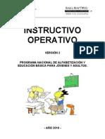Instructivo Operativo