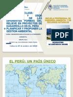 UNIDAD II  A  PRINCIPIOS Y USO SUSTEMBLES DE FORMAS DE RELIEVE EN PROYECTO DE DESARROLLO 05_10_2020