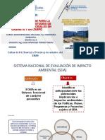 UNIDAD II C ACOPIO DE INFORMACION PARA LA ELABORACION DE LINEA BASE  DE EIA  SECTORIALES