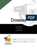 I°Medio_dossier_algebra y ecuaciones (1)