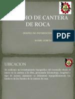 ESTUDIO DE CANTERA DE ROCAS
