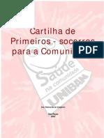 PRIMEIROSSOCORROS-CARTILHA
