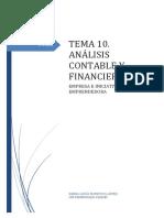 T.10. Análisis Contable y Financiero
