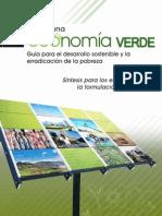 Hacia una economia verde para el desarrollo sostenible.