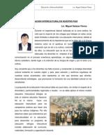 Educacion Intercultural en Nuestro Pais - Miguel Salazar