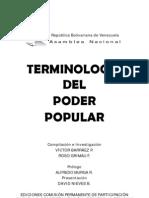 Tripa libro Terminología del Poder Popular