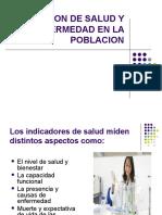 MEDICION DE SALUD Y ENFERMEDAD EN LA POBLACION (1)