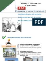 1.1 l'entreprise et son environnement