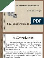 S5.12.DESCENTE DE CHARGES