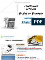 10.1.INITIATION A L_AVANT-METRE BATIMENT
