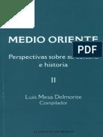 MEDIO ORIENTE_ PERSPECTIVAS SOB - Luis Mesa Delmonte