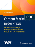 Content Marketing in Der Praxis Claudia Hilker