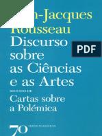 01 - Jean Jacques Rousseau - Discurso Sobre As Ciências E As Artes