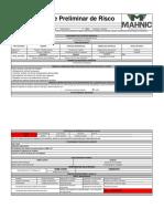 APR - Análise Preliminar de Risco - Administrativo
