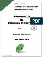 Cuadernillo Ciencias Naturales 2019