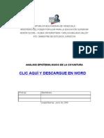 Analisis Epistemologico de La Coyuntura