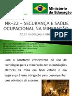 NR-22 - SEGURANÇA E SAÚDE OCUPACIONAL NA MINERAÇÃO (2)