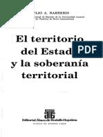 Barberis, Julio - El Territorio Del Estado y La Soberanía Territorial
