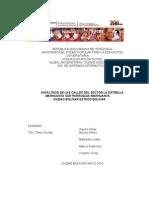 Proyecto Sociotecnologico Sector La Estrella