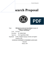 Sample market research proposal   ipgproje com Research Proposal Outline Template