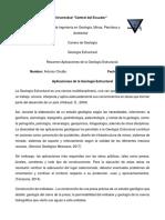 Chulde Antonio Tarea 1 Aplicaciones de La Geologia Estructural