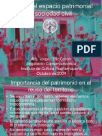 Reuso del espacio patrimonial y sociedad civil