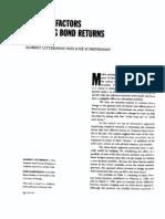 Common Factors in Bond Returns