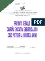 Proyecto Preventivo de Salud
