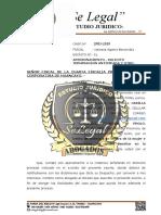 APERSONAMIENTO, SOLICITO TERMINACION ANTICIPADA