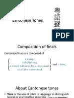 Cantonese Tones