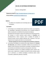 TECNOLOGÍA DE LOS SISTEMAS INFORMÁTICOS - Propuesta N° 1