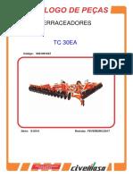 TC30EA - Terraceador TC30EA - Catalogo