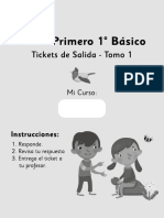 Tiket de Salida Sumo Primero Tomo 1
