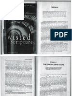 Twisted Scriptures 1997 Chapters 1-4
