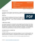 Paris Saclay - Fiche Juriste d'affaires international