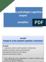 PPT 12 Cognitiva Emotii 1