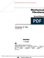 Mechanical Vibrations by s.s RAo ebook