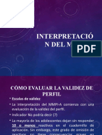 INTERPRETACIÓN DEL MMPI-A (1)