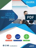 CLARK_Lista_de_precios_2021_Instaladores Marzo 2021