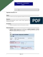 F110 Pagamento Automatico IDS Geracao Txt