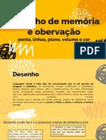 AULA 02-02 - DESENHO DE OBSERVAÇÃO