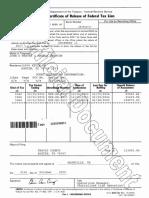 John Weaver Tax Lien Release IRS