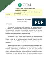 CFM autoriza cloroquina