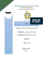 AUTOMATIZACIÓN Y CONTROL DE PROCESOS 4 VÁLVULAS