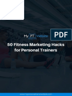 50 Fitness Marketing Hacks for Personal Trainers